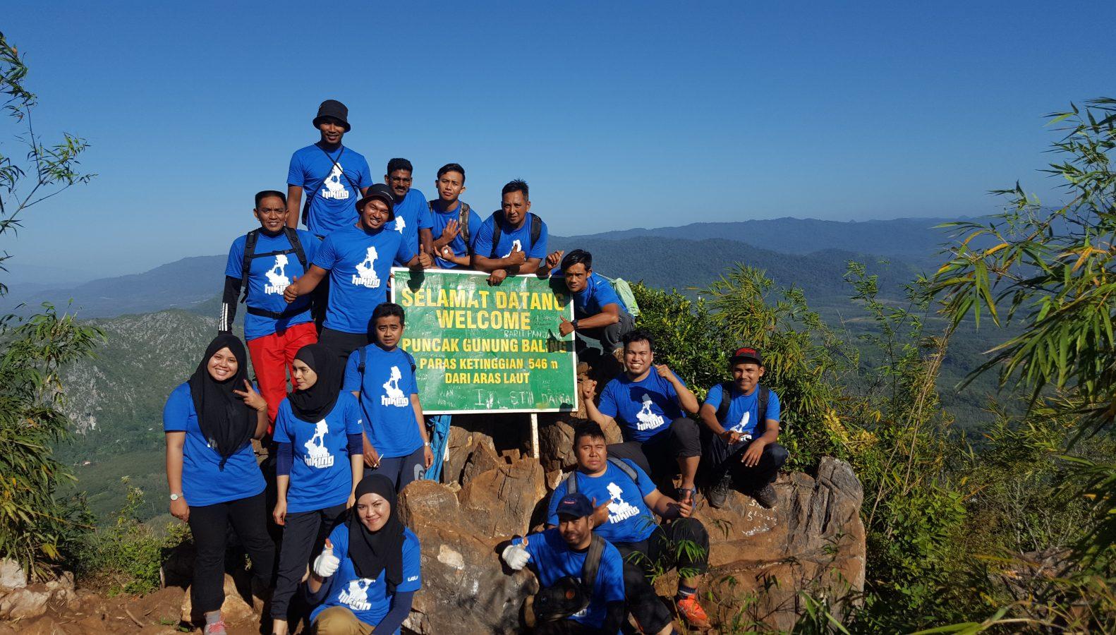 Ekspedisi Mendaki Di Gunung Baling, Kedah